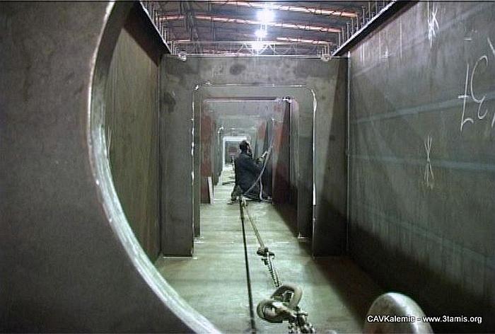 risques lors du coofrage d un tunnel bâtiment